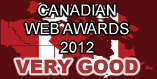 Canadian Web Awards 2012 - Very Good